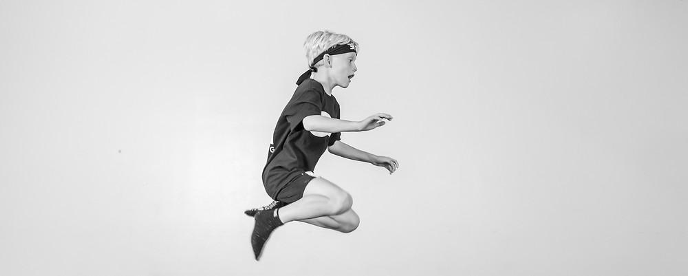 NinjaZone jump kid ninja