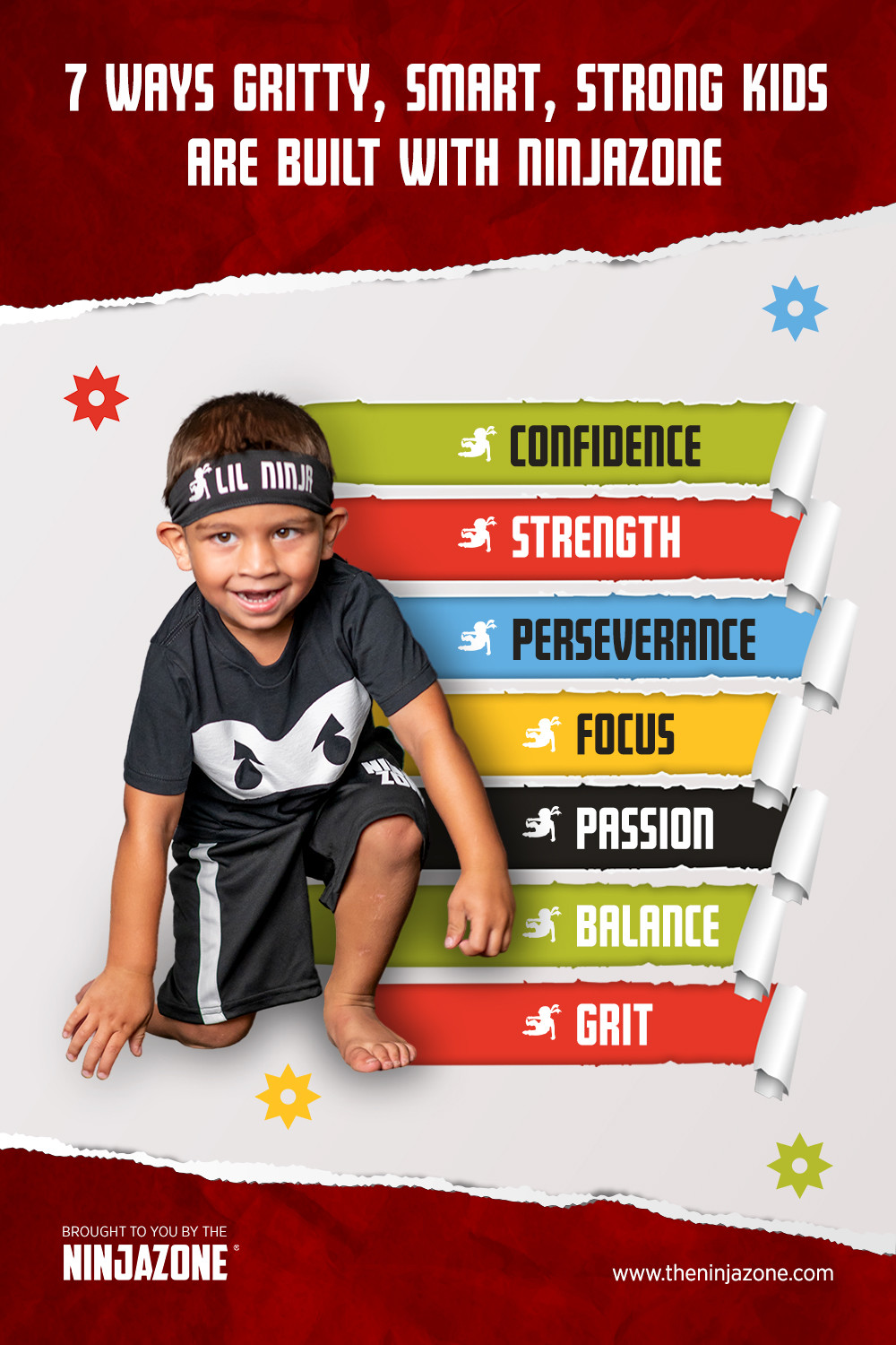 NinjaZone Gritty Strong Confident Kids