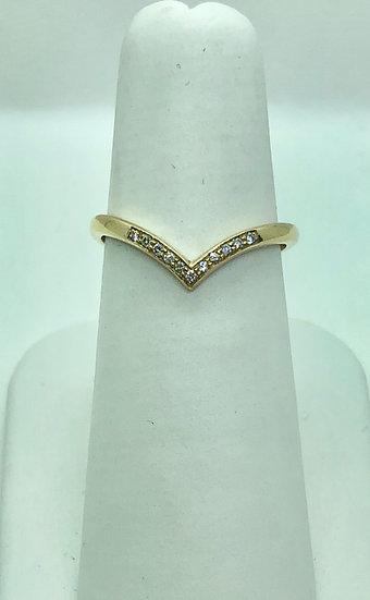 Diamond Wishbone ring, Jewellery Ring