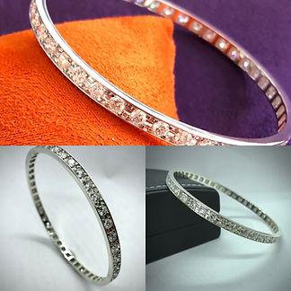 Diamond Bangle, Jewellery Amersham, jewellery repairs amersham JPG