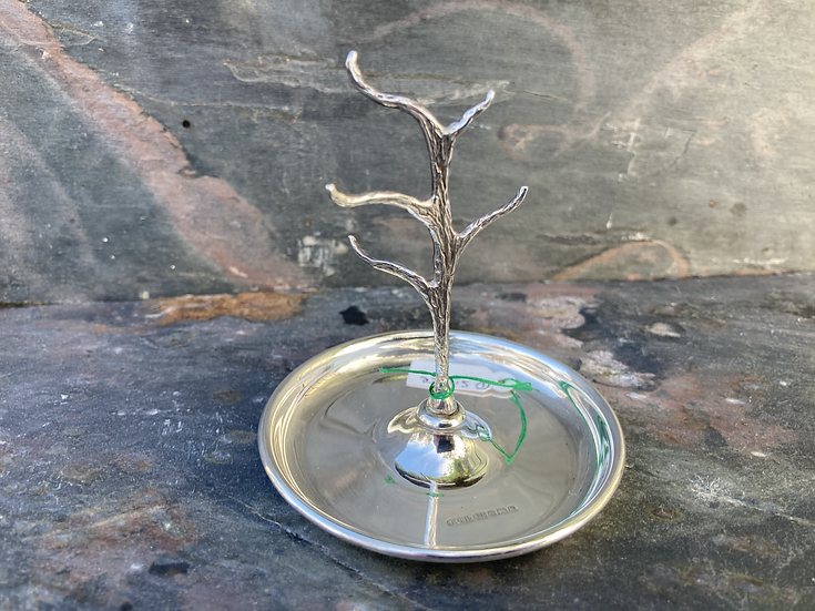 silver ring tree