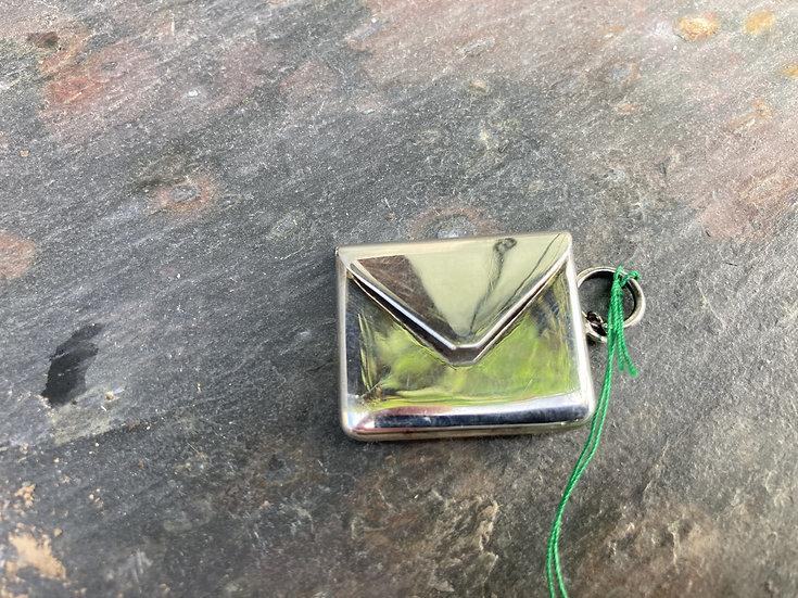 Silver stamp box