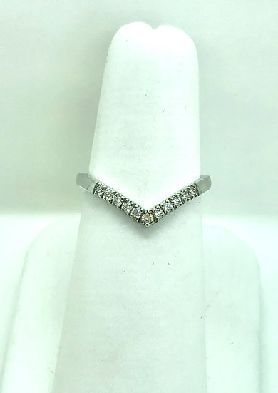 diamond wishbone wedding ring, jewellery tring