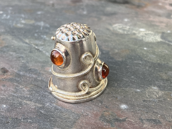 Silver thimble, gifts wendover