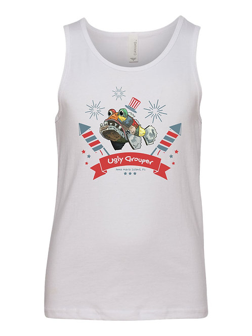 copy of 4th of July Fireworks Youth Tank