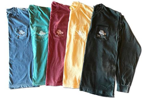 copy of UG Island Long Sleeve Tee with Pocket