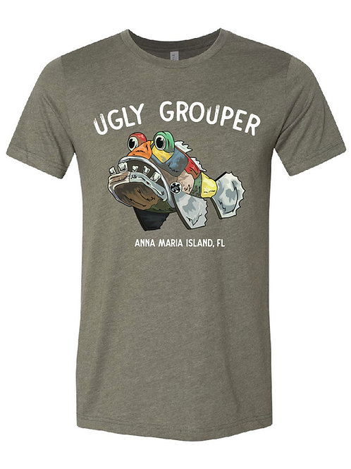 copy of Grouper Front Design Adult Tee