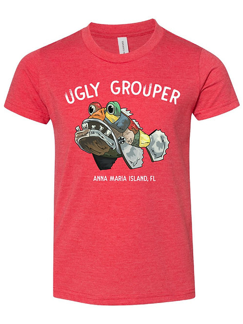copy of Youth - Grouper Front Design Tee