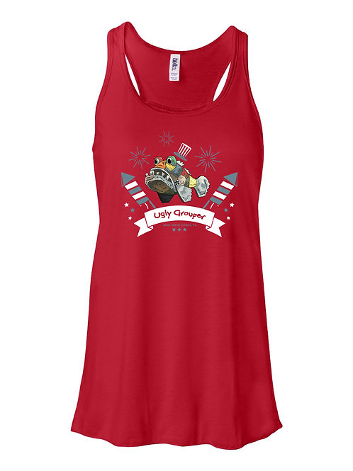 copy of 4th of July Fireworks Ladies Tank