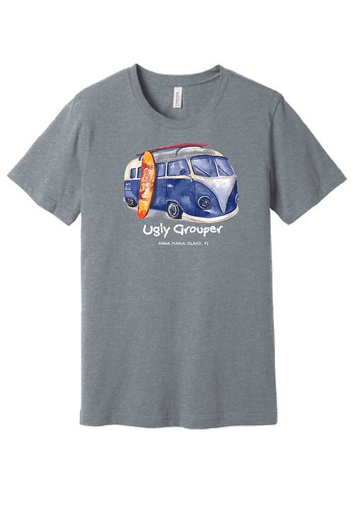 copy of Grouper Vintage Bus Adult Tee