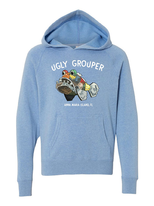 Youth - Grouper Front Design Hoodie