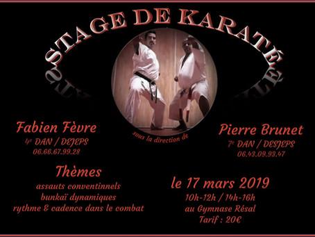 stage du 17 Mars