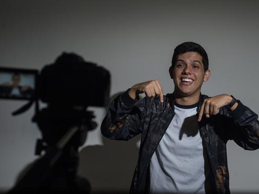 Do Cariri paraibano para o YouTube: seguindo @luisaugustobrito