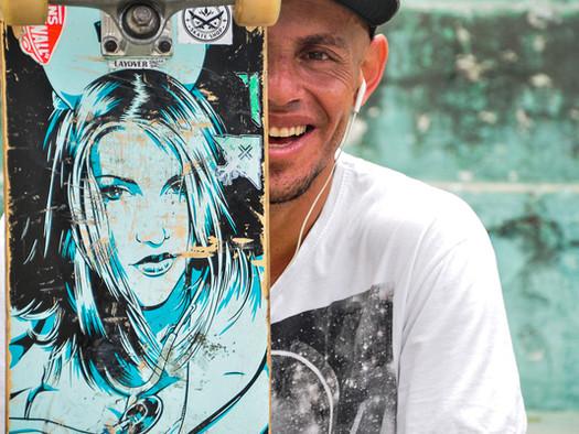 """Doido por skate! Conheça o perfil de """"Robson Loko"""""""