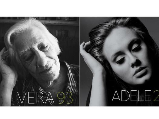 Lar de idosos faz ensaio fotográfico recriando capas de discos famosos