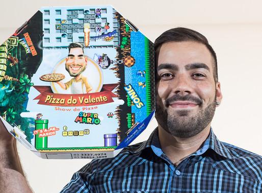Felipe da Pizza do Valente: de carregador a empresário