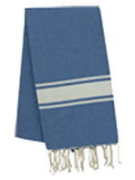 Fouta (Flat Weave) - Monocolor (ROYAL BLUE) - Ibiza Model
