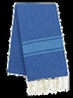 Fouta (Flat Weave) - Bicolor (ROYAL BLUE /TURQUISE) - Ibiza Model -