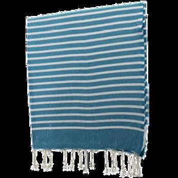 Fouta - Marinière (DUCK BLUE)