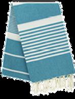 Fouta (Flat Weave) - Monocolor (DUCK BLUE) - Arthur Model