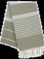 Fouta (Flat Weave) - Monocolor (RED BOURDEAUX) - Arthur Model