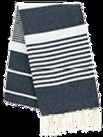 Fouta (Flat Weave) - Monocolor (NAVY BLUE) - Arthur Model