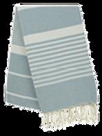 Fouta (Flat Weave) - Monocolor (SKIM BLUE) - Arthur Model