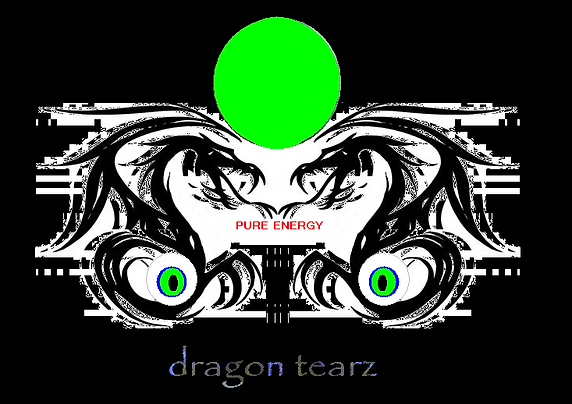 Dragon Tearz Energy Eye Drops Trademark