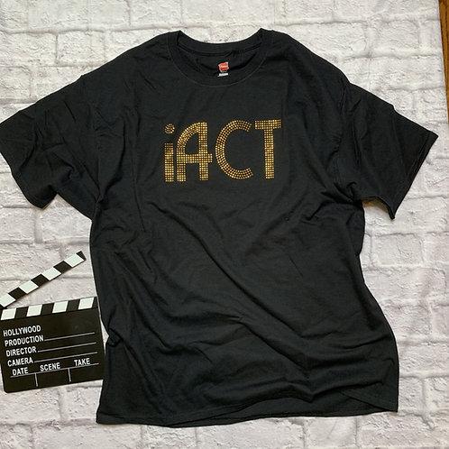 iACT: Gold Metallic Studs