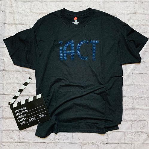 iACT: Blue Metallic Studs