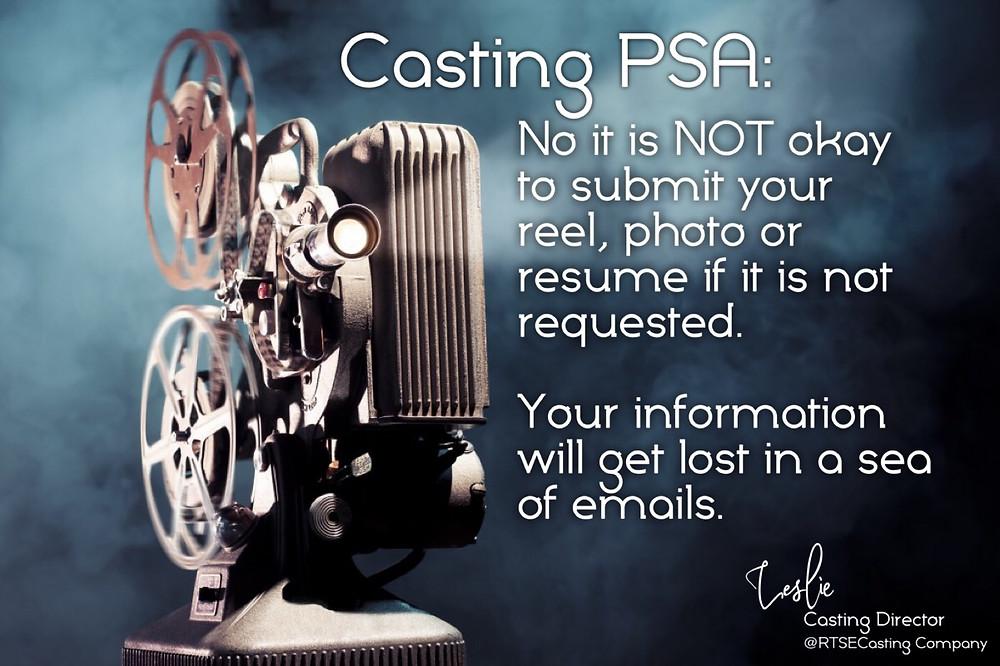 Casting PSA 1