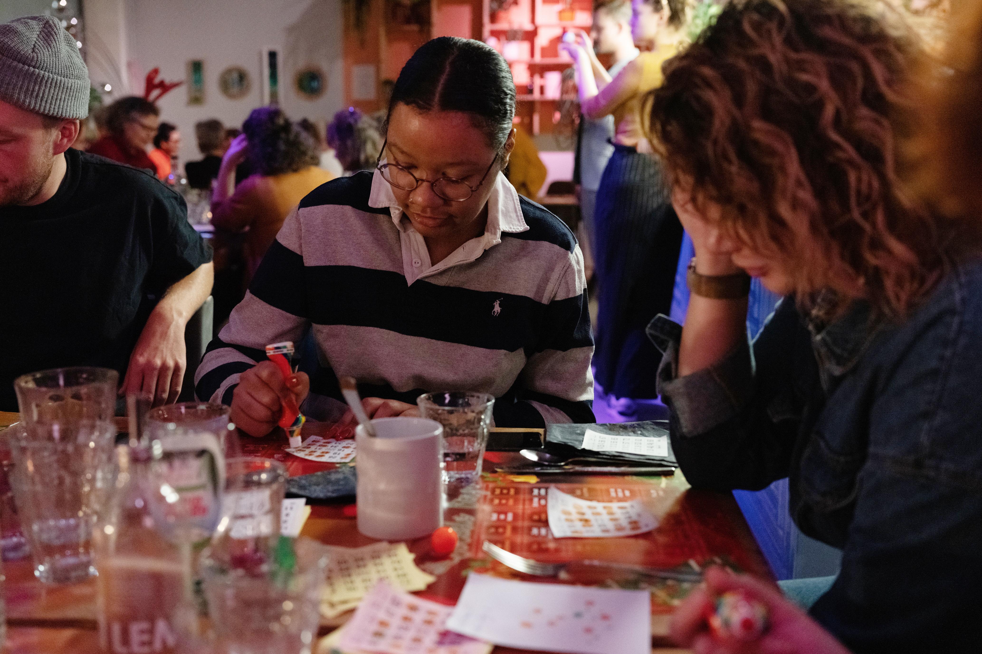 Kerstbingo & diner - foto door Titia Hahne
