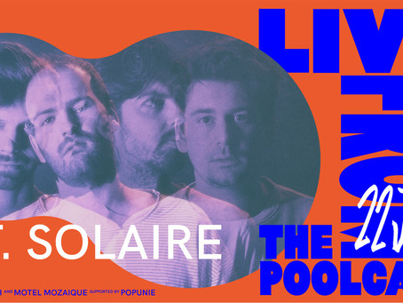 Live from the Pool House: St. Solaire