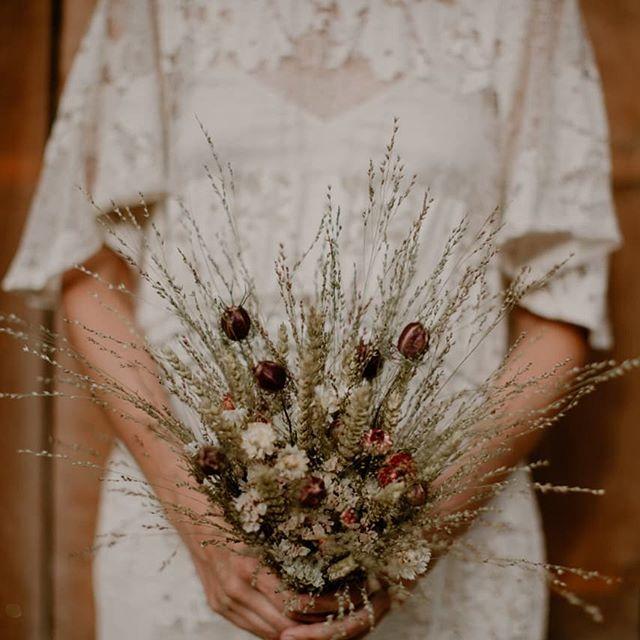 💐 Bouquet Mariée fleurs séchées 💐👰❤️