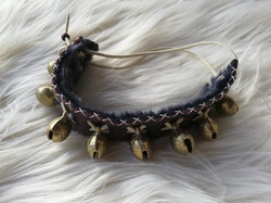 Bracelet cheville grelots