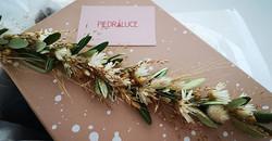 💮🌼Parure Mariage, création fleurs séch
