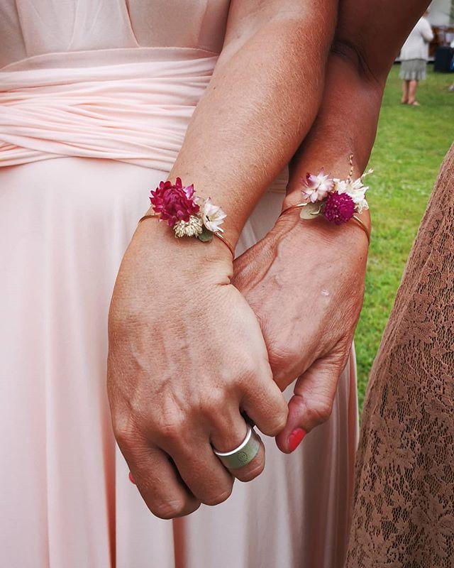 🌼💮 Bracelets demoiselles d'honneur💮🌼
