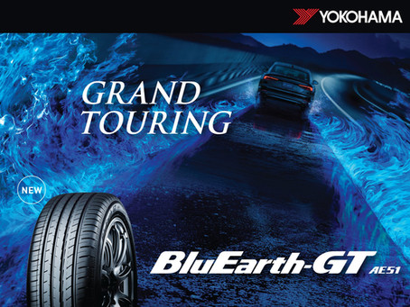 New YOKOHAMA BluEarth-GT AE51