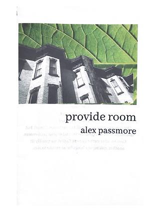 Provide Room by Alex Passmore
