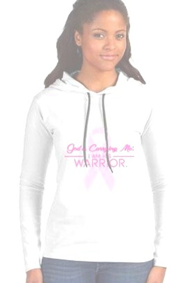 God is Carrying Me: I am His Warrior/Hoodie