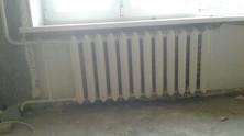 Замена радиатора отопления.