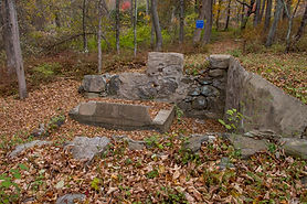Remains of Jewish community mikveh in Chesterfield, Connecticut