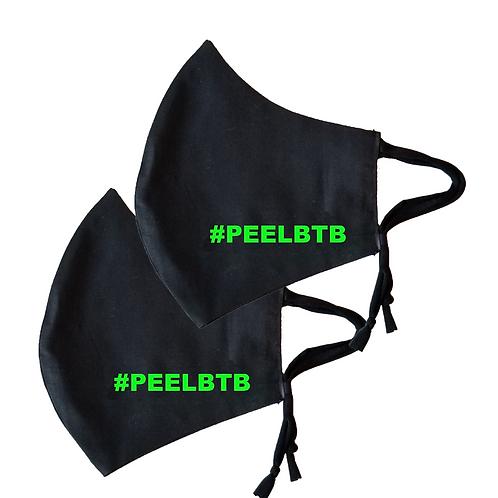 #PEELBTB face Mask