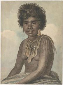 An Australian Native girl, by Augustus Earle 1826