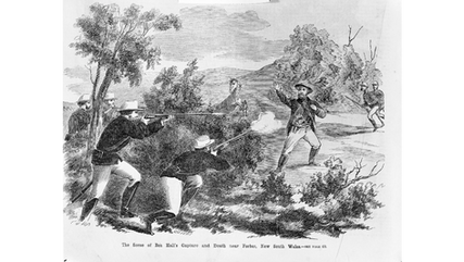 The death of Ben Hall 1865