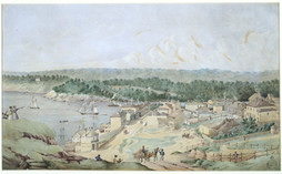 Millers Point, Sydney by Joseph Fowles 1840