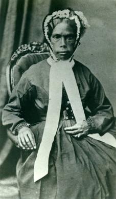 Constance Trudgett (Couronne) circa 1870