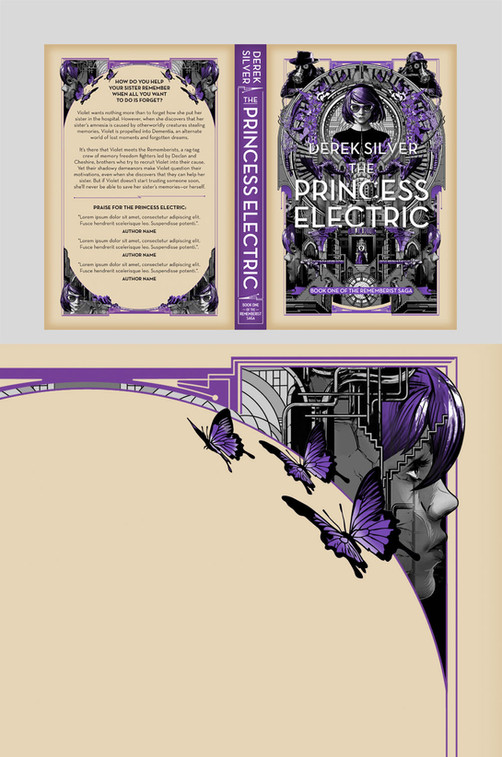 Full cover artwork for The Princess Electric