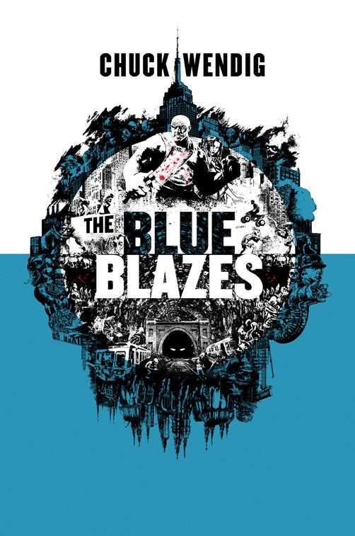 The Blue Blazes / Cover Art