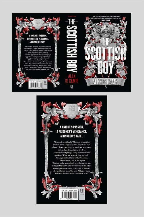 Full cover artwork for The Scottish Boy